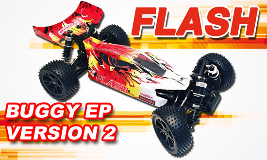 FLASH BUGGY RTR MHD3S 1/10