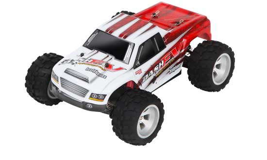 MINI MHD Truggy Red 4WD 1/18