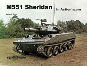 M551 SHERIDAN COLOR IN ACTION