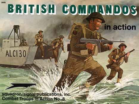 BRITISH COMMANDOS IN ACTION