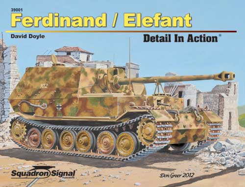 FERDINAND/ELEFANT DETAIL IN ACTION