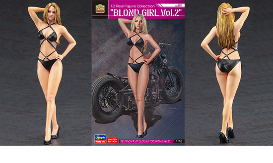 "Real Figure ""BLOND GIRL Vol.2"" 1/12"