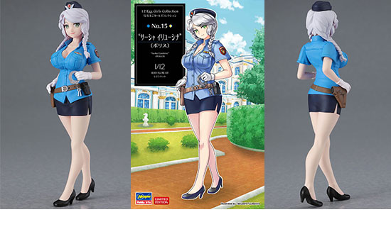 Egg Girls Sasha Ilyushina POLICE 1/12