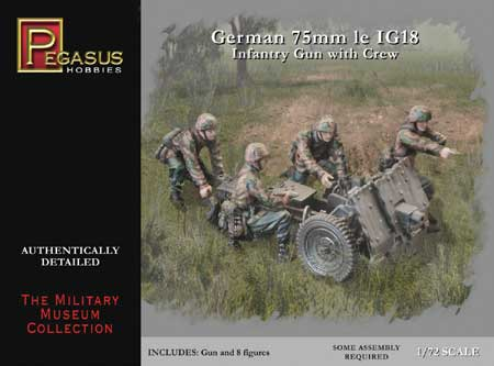 GERMANN 75mm IG18 1/72