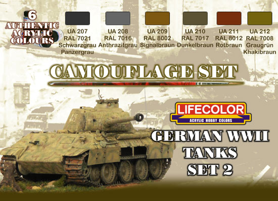 CAMOUFLAGE TANKS ALLEMANDS 2
